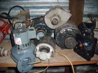 EElectiric Motors - Various shapes  sizes..