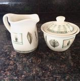 Have one to sell? Sell now Details about Pfaltzgraff Creamer And Sugar Set Naturewood