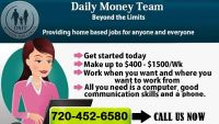 Apply Today and Start Today