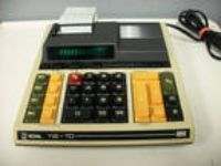 Vintage Royal 112-TD Desktop Adding Machine Calculator with