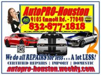 A/C | Engine | Transmission | Electrical | Suspension | Diagnostics and Repair
