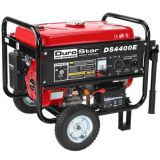 Generator Durostar DS4400E Electric Start Gas Generator / Wheel kit Included