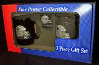 dallas cowboys fine pewter collectible gift set