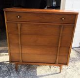 MCM Bassett Chester Drawer and Side Table