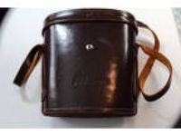"Vintage Nikon Leather Camera Case (9"" X 8"" X 4"")"