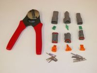 Purchase Gray Deutsch DT 2-3-4 MALE FEMALE connector kit solid terminal crimper tool motorcycle in Salisbury, Massachusetts, United States, for US $61.95