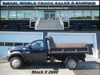 2013 RAM Ram Chassis 5500 Diesel Dump Truck - LOW miles!