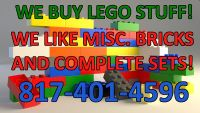 $100, We buy LEGO