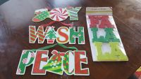 Variety of Christmas Signs