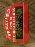2 Chicago Cubs wall signs