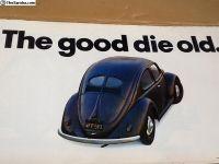 Original 1960 VW Bug dealer posters
