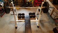 Tuff Stuff Weight Bench and Weights