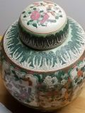 Hand painted Bmi pottery