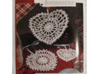 Dainty Hearts crochet pattern from magazine