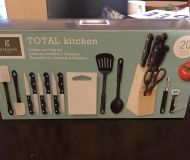 Gibson Home 20 piece Total Kitchen set. New! Never opened!