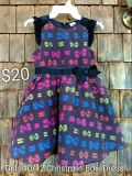 Girls youth size 10/12 Christmas bow dress