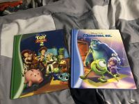 Disney Pixar Books - Toy Story 2 and Monsters Inc