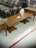 COFFEE TABLE AND END TABLES FRENCH OAK COFFEE TABLE  2 END TABLES