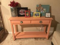 Peachy Console Table