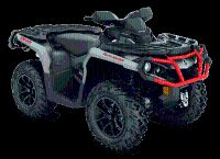 2018 Can-Am Outlander XT 850 Utility ATVs Dansville, NY