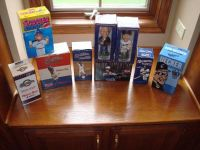Milwaukee Brewers BobbleHeads Uecker Hot Dog & More SGA New in Box!!
