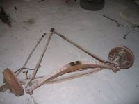 Buy Complete Front Axle and suspension parts including front brakes for 1947 Lincoln motorcycle in Palatka, Florida, United States, for US $575.00