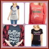Maternity Graphic t shirt/ long sleeves