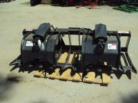 Heavy Duty 84 brush and root grapple for a skid steer loader NEW