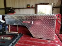 Weather Guard driver side tool box