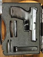 For Sale: HK VP9 , 4 mags, night sights, cse $450