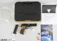 For Sale: German Sig Sauer P210 P210-9 Legend pistol in box and 2 mags