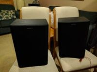 Pair of Sony speakers 200 watts each
