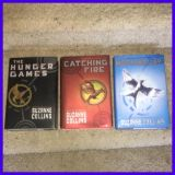 The Hunger Games Trilogy by Suzanne Collins Hard Back Hardcover