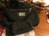 Coach black purse and pocketbook