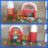 Fisher Price Little People Farm / Barn with Silo and Figures