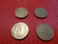 four 100 Mexican Peso coins
