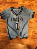 6-12 month UNC Jersey outfit