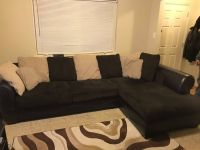 Couch and round chair for sale - Available Feb 1st