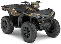 2017 Polaris Sportsman 850 SP Polaris Pursuit Camo Utility ATVs Lowell, NC