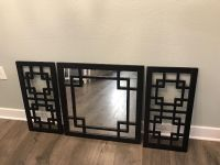 Wall Decor Set with Mirror