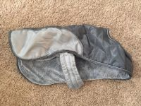Fleece lined doggy jacket with Velcro closure
