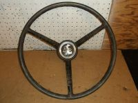 Sell 1966 FORD TRUCK STEERING WHEEL PICKUP 1961 1963 1964 1965 HORN BUTTON 65 66 64 motorcycle in Springfield, Oregon, US, for US $19.99