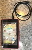 Amazon Kindle Fire HD 6 Wi Fi 16 GB Pink with charging cable