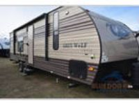 2017 Forest River Forest River Grey Wolf 26RR 31ft