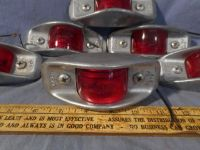 Sell 1ea NOS K-D Armored Side Marker Light red Fire Tow Truck Military WWII M37 M35 motorcycle in Osceola, Pennsylvania, United States