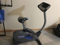 Exercise bike. Works great. Battery operated display & built in fan. $30