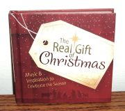 NEW The Real Gift of Christmas Music Inspiration to Celebrate The Season Book CD Set