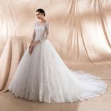 Cassidy's Long Sleeve Lace Wedding Dress