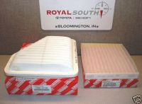 Purchase Toyota Rav4 Engine & Cabin Air Filters Genuine OEM OE motorcycle in Bloomington, Indiana, US, for US $32.00
