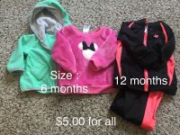 Girls Sweater & track suit
